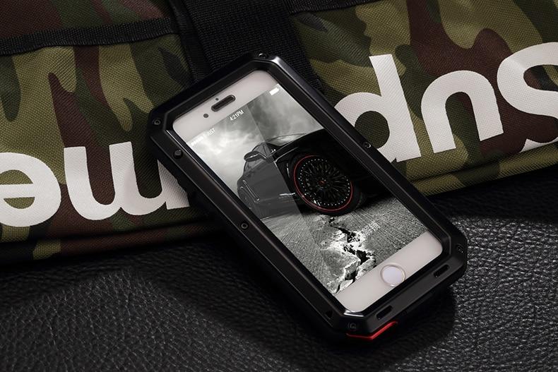 HTB1p 1UeKuSBuNjSsziq6zq8pXaL Heavy Duty Protection Doom armor Metal Aluminum phone Case for iPhone 11 Pro Max XR XS MAX 6 6S 7 8 Plus X 5S 5 Shockproof Cover
