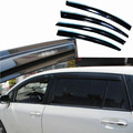 4pcs Windows Vent Visors Rain Guard Dark Sun Shield Deflectors For Toyota EZ