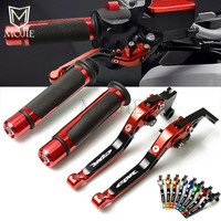 For Honda CBR600RR 2003 2006 CBR954RR 2002 2003 CBR 600 954 RR Motorcycle CNC Adjustable Brake Clutch Lever Handle Hand Grips