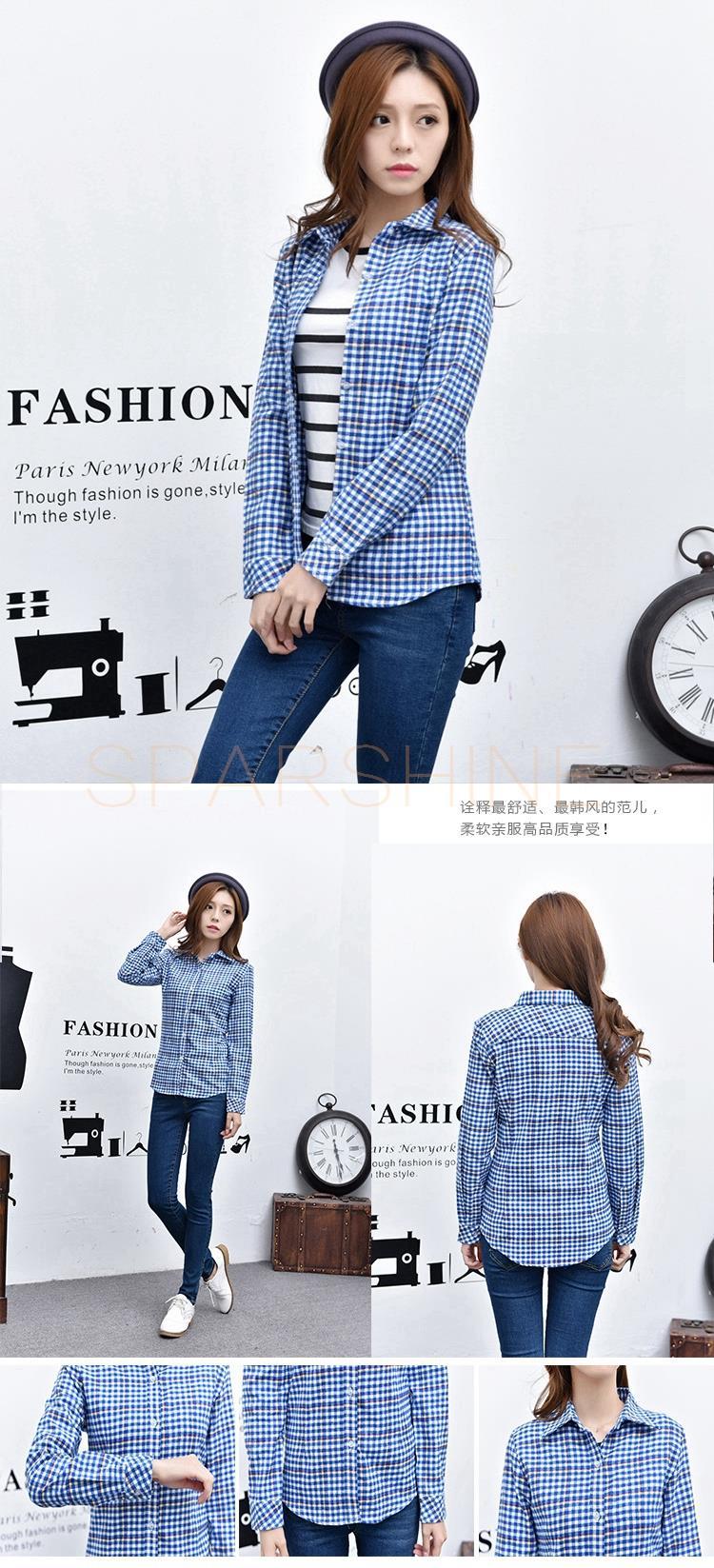 HTB1p 2XLFXXXXc5XVXXq6xXFXXX8 - Girl's Plaid Flannel Shirt PTC 67