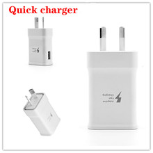 High Quality Full 2A AU Plug USB Wall Home Quick Charger Charging Power Adapter FOR Samsung S20 S10 PLUS FOR iphone 11 PRO XS