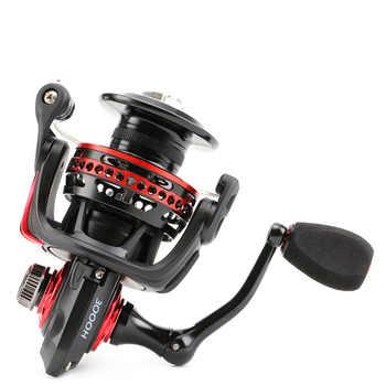 Seaknight 2000-4000 Series Spinning 6.2:1 Black Red Full Metal Body WaterProof Design Anti-Corrosion Real 11 BB Fishing Reel