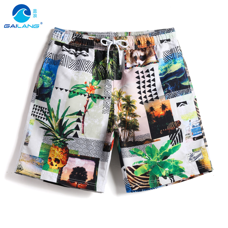Summer Men's   board     shorts   sweat liner swimwear beach   shorts   swimming trunks swimsuits waterproof joggers beach   shorts   mesh