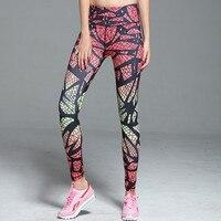 מודפס נשים גרביונים חותלות בנות חותלות מוארת ספורט ריצה יוגה ספורט כושר מכנסיים דחיסה סקסי נשים