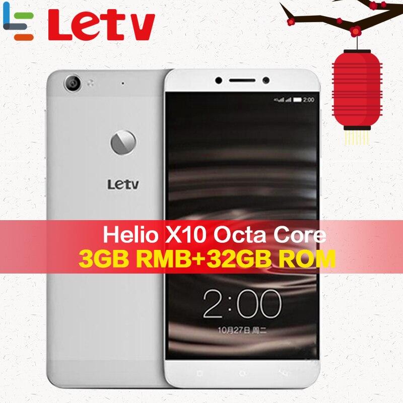 Original Letv Le 1 S X500 4G teléfono móvil 3G RAM 32G ROM Android 5,0 Octa Core 5,5 ''13MP huella dactilar ID Android Smartphone