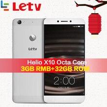 Оригинальный Letv Le 1 S X500 4G мобильного телефона 3g Оперативная память 32G Встроенная память Android 5,0 Octa Core 5,5 »13MP отпечатков пальцев ID Android-смартфон
