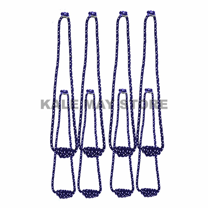 Anti-gravity Iyengar Yoga Wall Rope Full Set Yoga Auxiliary Wall Rope Yoga Lanyard Hanging Belt Yoga Rope Sling 4 Colors