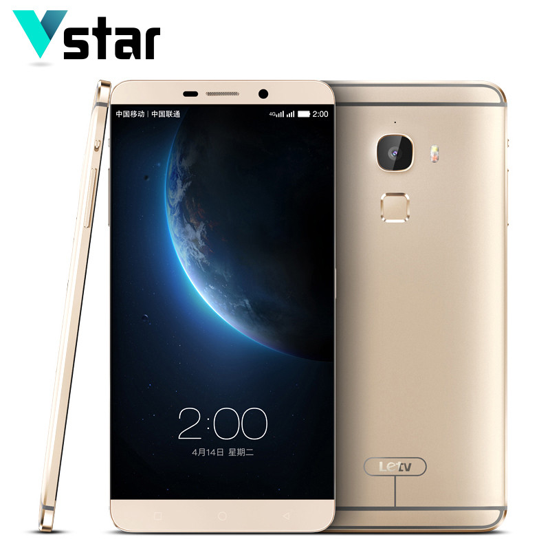 Original LeEco LETV Le Max X900 6 33 Octa Core Smart Phone Snapdragon 810 4GB RAM