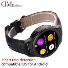 2016 neue Ankunft herz Smart Uhr DM16 Smartwatch Unterstützung SIM SD Karte Bluetooth WAP GPRS MP4 USB für iOS und Android