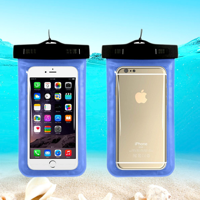 Inflatable Waterproof Travel Mobile Bags Underwater Dry Case Cover Luggage Covers