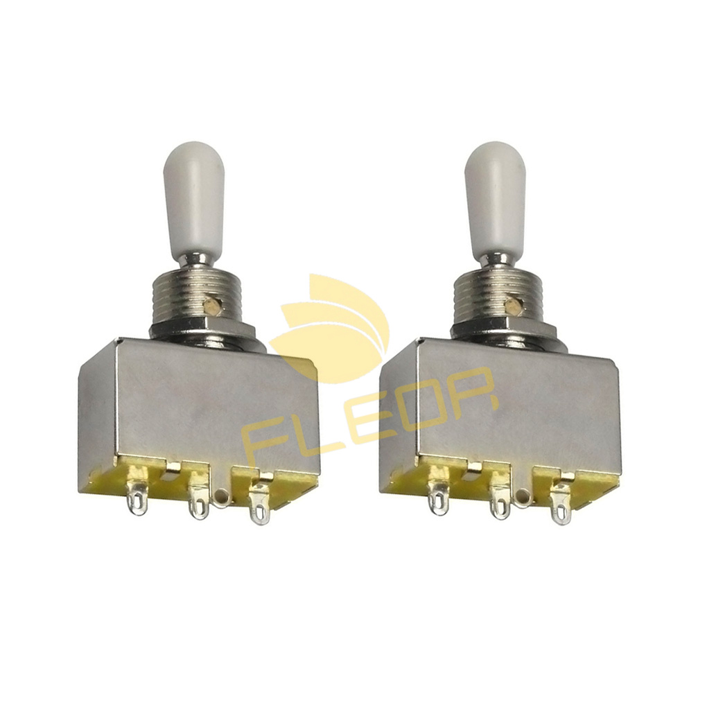 New 2pcs Electric Guitar 3 Way Toggle Switch With White Tips In Wiring Parts Accessories From Sports Entertainment On Alibaba Group