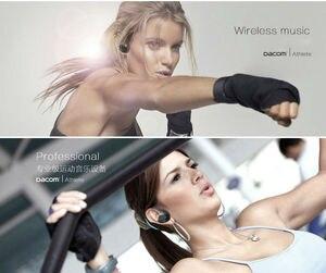 Image 5 - Originale Dacom Atleta Auricolare Bluetooth G05 Cuffie Senza Fili Sport Corsa E Jogging Auricolare Stereo con Bluetooth V4.1 Microfono