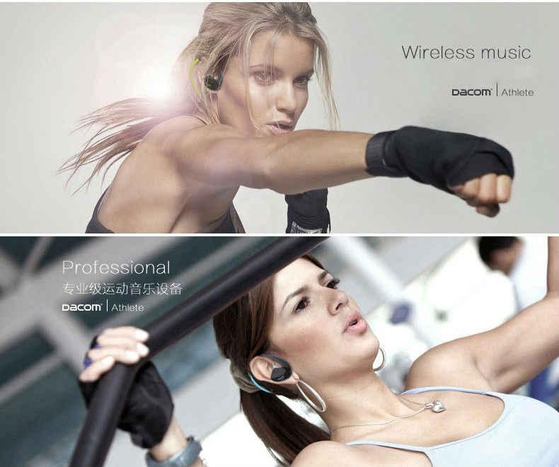 Oryginalny zestaw słuchawkowy Dacom sportowiec G05 słuchawki bezprzewodowe sport Running słuchawki stereo z mikrofonem Bluetooth V4.1