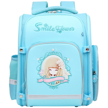 famous Brand children School Bags for Girls princess Print SchoolBag kids Children Orthopedic school Backpacks Mochila Escolar