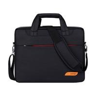 Nylon Airbag Waterproof 14 15 6 17 3 Inch Shoulder Messenger Notebook Bag Women Men Laptop