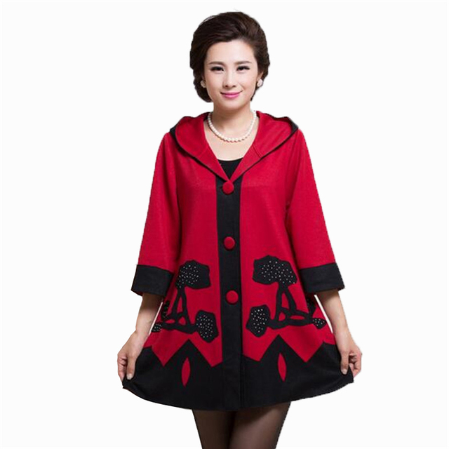 2016 New Winter Single-breasted jacket Woman's Outerwear Slim Hooded Jacket Woman Warm Coat Women plus size 5XL  H115
