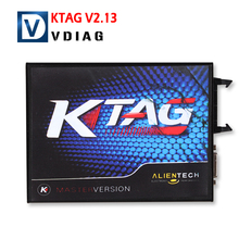 2016 Newest K tag V2.13 Unlimited Version high quality ktag master ECU Programming Tool k-tag Hardware V6.070 free shipping