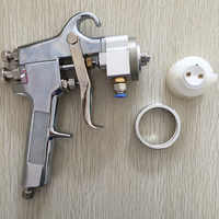 SAT1182 Professional High Quality Mirror Chrome Paint Adjustable Air Pressure Regulator Spray Gun Spray Foam Gun Machine