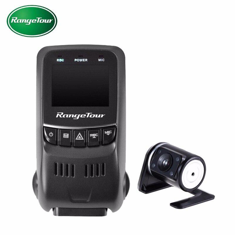 Range Tour B40s Plus Dual Lens Mini Car DVR Camera Novatek 96655 Dash Cam Full HD
