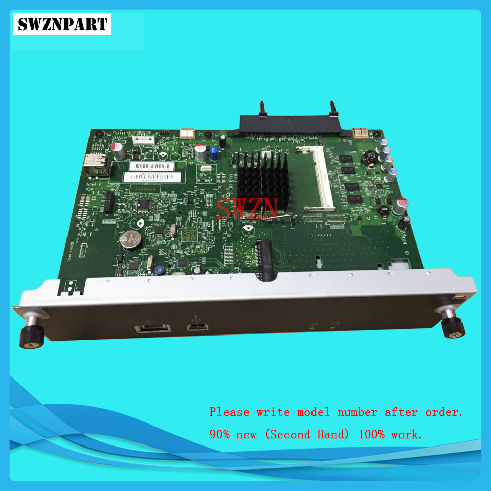 FORMATTER PCA ASSY Formatter Board logic Main Board MainBoard mother board for HP M806 M806dn M806X+ CZ244-67901 ipc floor pca 6114p10 rev b1 100% test