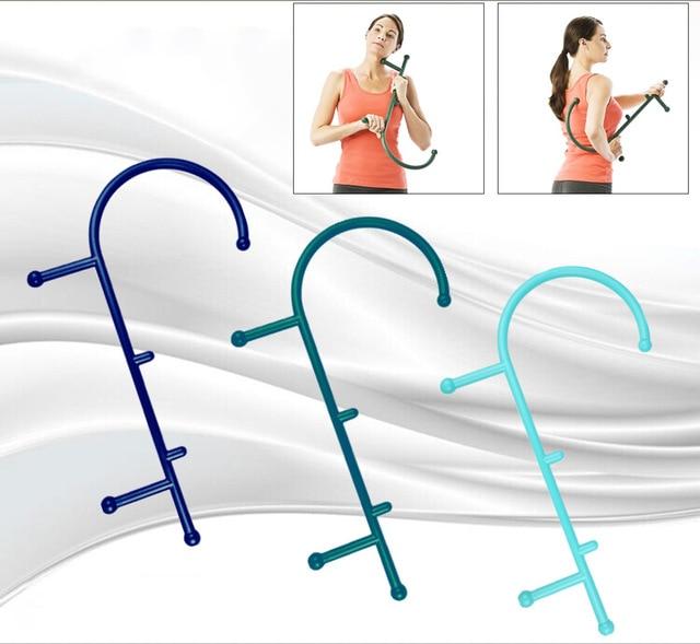 1 Pc Trigger Punkt Selbst Massage Stick Haken Theracane Körper Muscle Relief Original Thera Zuckerrohr Zurück Massager Therapeutische Werkzeuge Schmerzen Haben
