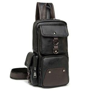 Image 2 - GUMST sacs à bandoulière en cuir pour hommes, sacoche poitrine, nouvelle collection 2020 étanche sac décontracté tendance