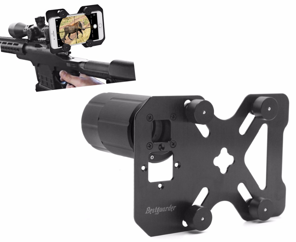 Hunting Shoot Scope Mount Adapter Camera Adapter Smart Mounting System for Gun Scope Telescope Monocular Record Hunting via Cell universal cell phone adapter mount binocular monocular spotting scope telescope and microscope accessories