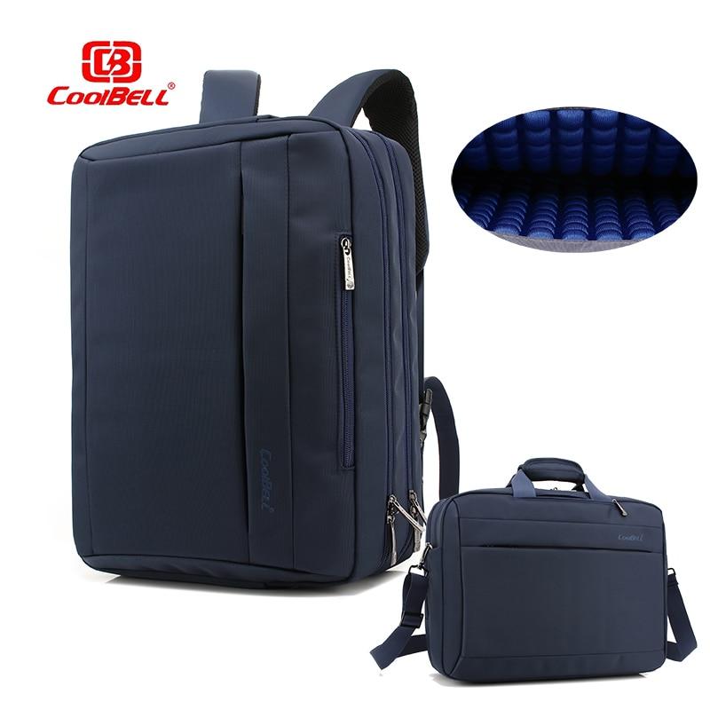 15 inch laptop backpack Convertible Laptop handbag capacity shoulder bag for 17 17 3 laptop multifuction