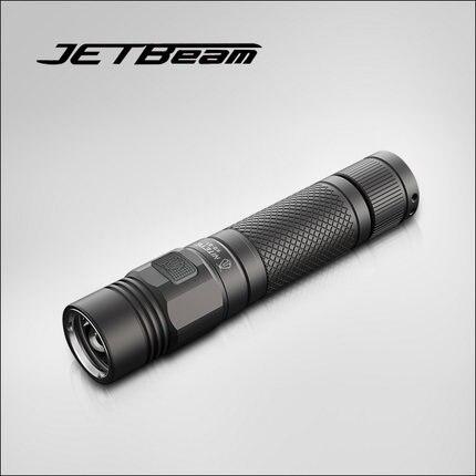 free shipping JETBeam NITEYE KO-01 Tactical flashlight 1080 lumen by 1*18650 side switch torch цена