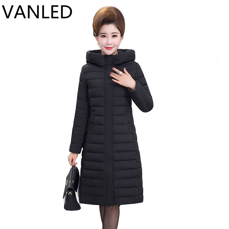 2017 Rushed Special Offer Full Slim Womens Winter Jackets And Coats Cotton Dress In The Long Section Of Big Clothes Winter Coat lucky panda 2016 the new winter coat and female slim in the long and small lattice fragrant cotton lkp243