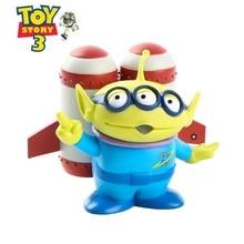 Disney Toy Story 3 Buzz Lightyear Woody Jessie verde Aliens Q versión 9 cm  PVC figuras de acción muñecas juguetes para niños mod. 327b9568823