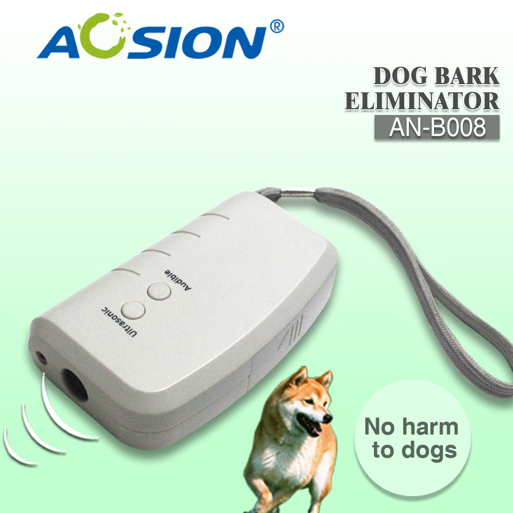 Free Shipping 2x Aosion 3 In 1 Stop Bark Ultrasonic Dog