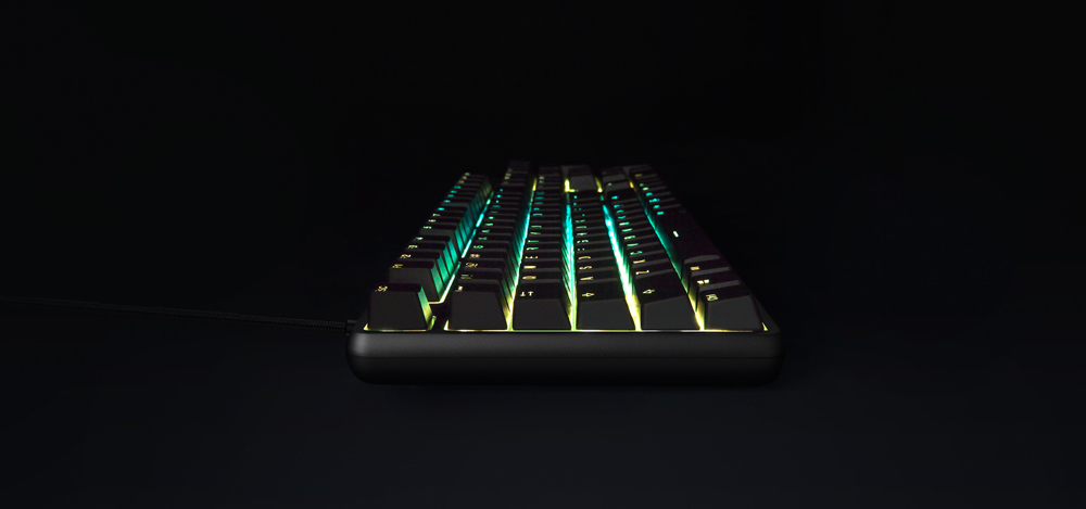 Original Xiaomi Mi Gaming Keyboard 104 Keys Key Without Punch LED Backlit Backlight USB Wired Aluminum alloy For Overwatch Dota2 (8)
