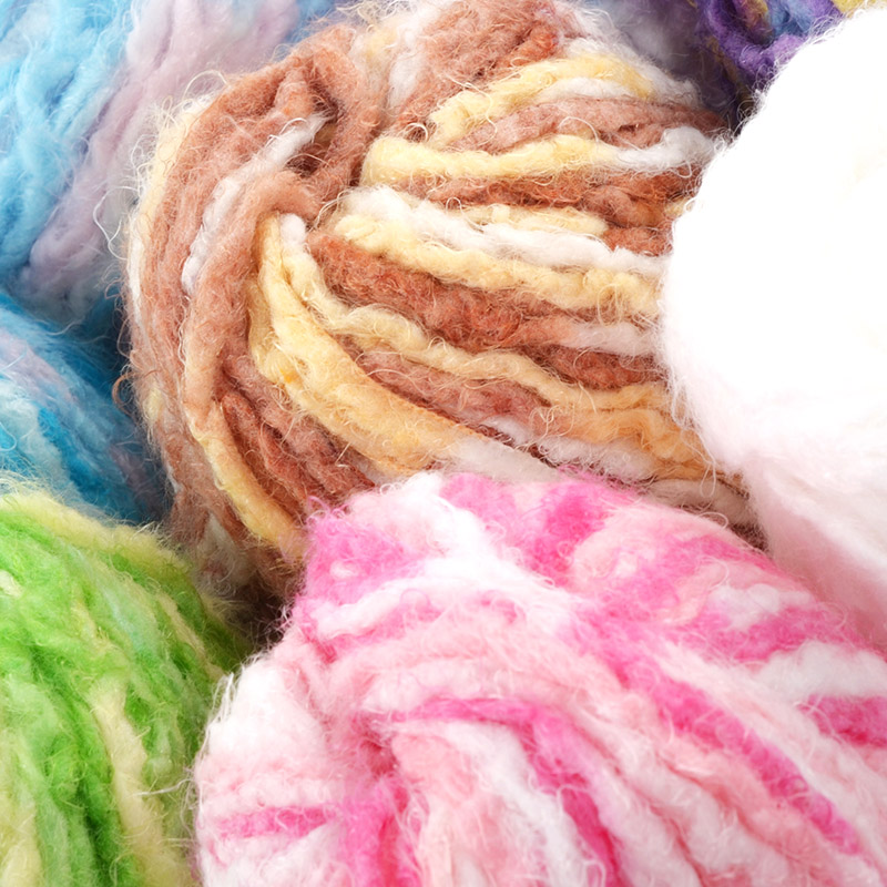 Free shipping 50g/Ball 100% Nylon Anti-Pilling Low Shrinkage Rainbow Yarn For Hand Knitt ...