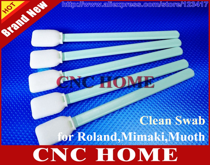 200pcs Cleaning Swabs Foam Swab Roland Mimaki Mutoh Epson Printer
