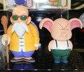 Frete Grátis Anime Dragon Ball Mestre Kame Kame Sennin & Oolong Encaixotado Ação PVC Figura Coleção Modelo Toy Dolls Presente