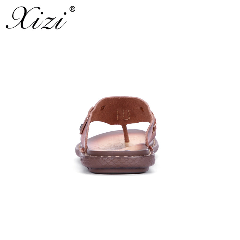 9ffe798a5ff XIZI New Summer Men Designer Flip Flops shoe Men s Casual Microfiber  Leather Sandals Fashion Slippers Breathable Beach Shoes-in Men s Sandals  from Shoes on ...