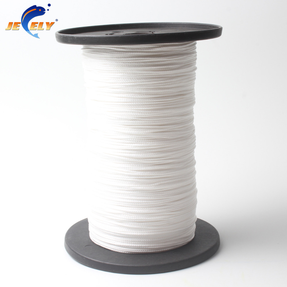 Free Shipping 100m 170kg 16 strand 1.5mm uhmwpe Fiber braid hollow Fishing Rope Stunt Kite Line White Color free shipping 500m 4250lb sailboat rope extreme strong 4 5mm uhmwpe braided wire