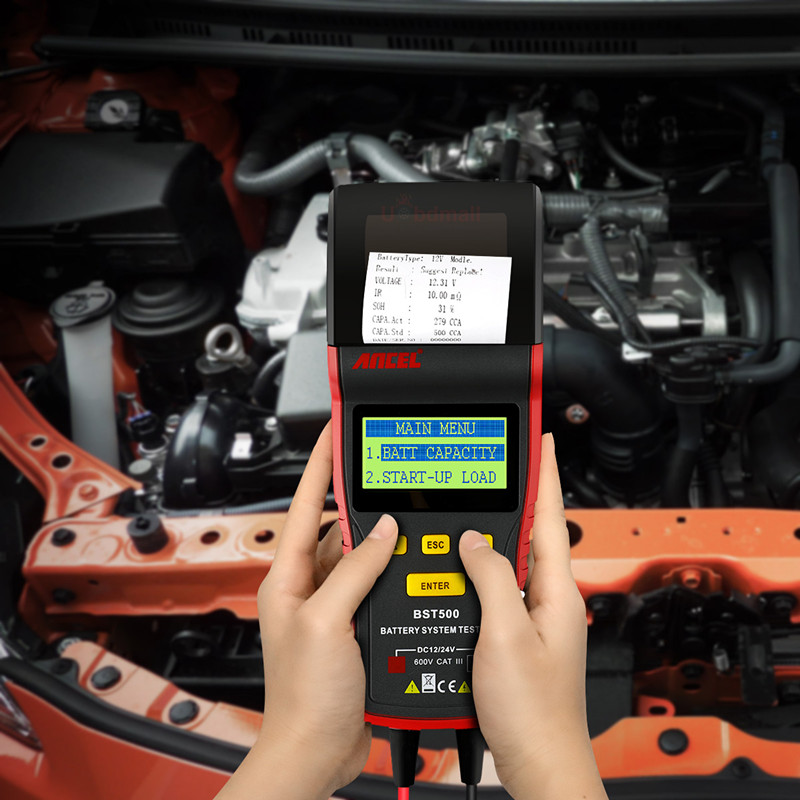 Car Battery /& Alternator Tester for Rover 12v DC Voltage Check