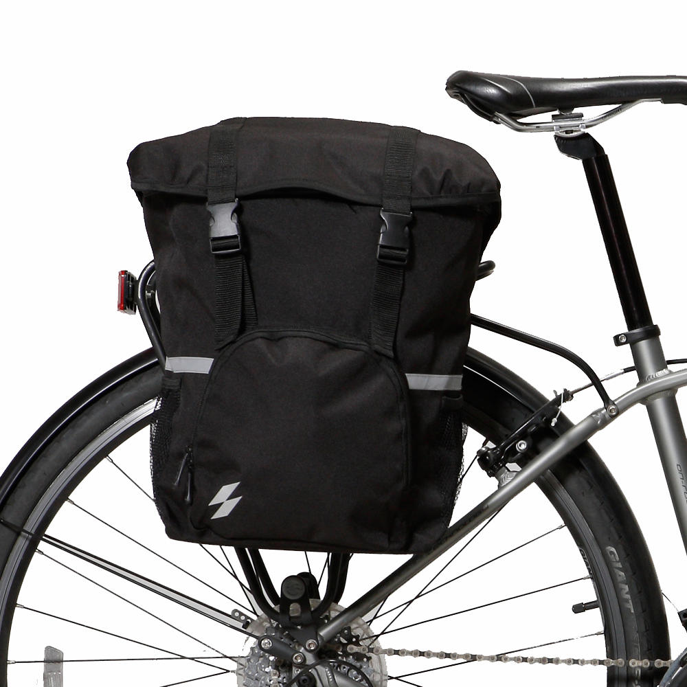 Pannier Bike//Cycling Bag Set Roswheel 14892-A Black Water Resistant