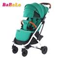 Babalo YOYA PLUS kinderwagen licht opvouwbare paraplu auto kan zitten kan liggen ultralichte draagbare op het vliegtuig kinderwagens