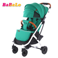 Babalo YOYA PLUS baby stroller light folding umbrella car can sit can lie ultra light portable on the airplane baby strollers