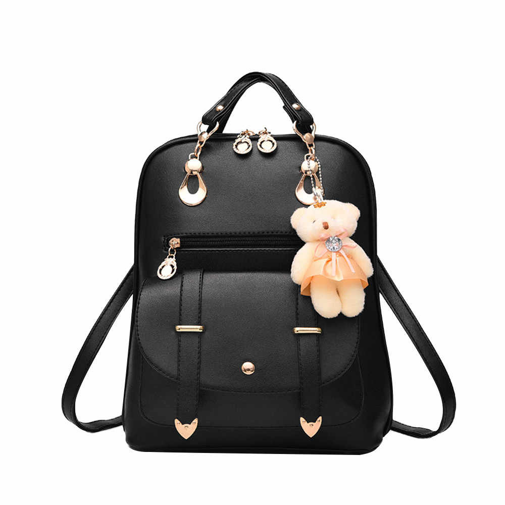 Shoulder Backpacks Bear Backpack Casual In women Daypacks high quality backpacks shopping Satchel #YL5