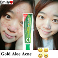 1 Piece Gold Aloe Acne Dispelling Plaster Cream Acne removal cream Skin Care Aloe Vera Gel Anti-Acne Oil Control Unisex