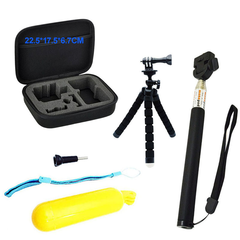 120X Camera Accessories Kit For GoPro Hero 8 7 6 5 4 3 Sony SJ Sports Kit Bundle