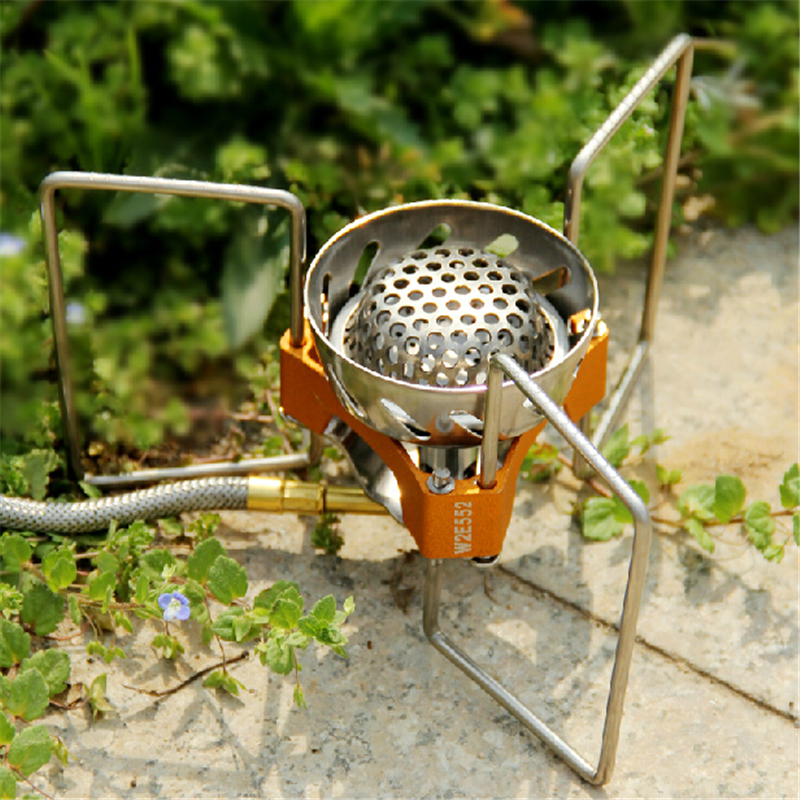 ФОТО Fire Maple FWS-02 Outdoor Camping Gas Stove No Windproof Stove 2900W Pocket  Portable Gas stove Manufacture