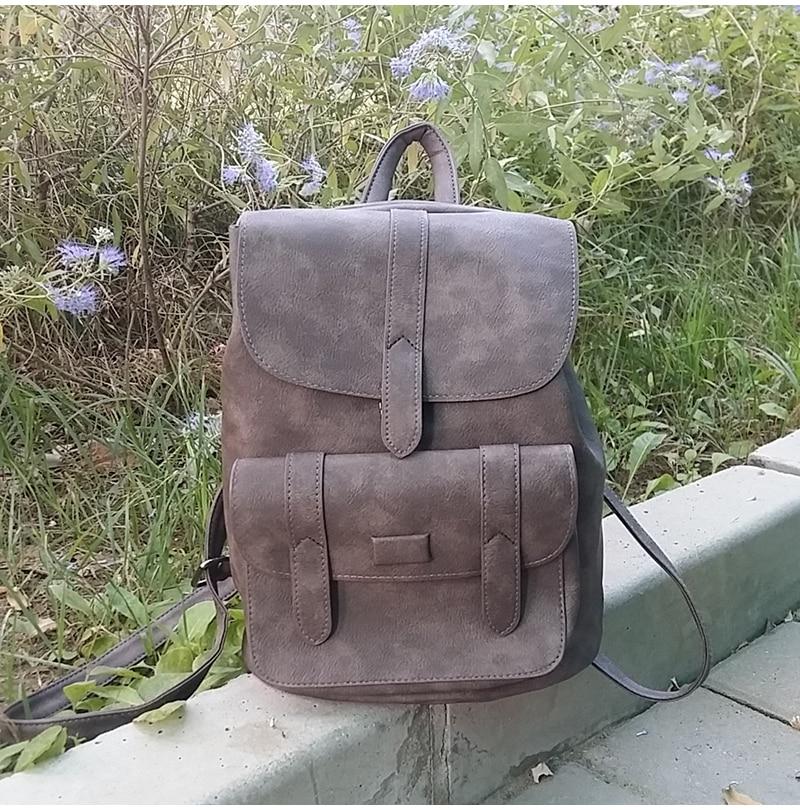 HTB1p 7XclUSMeJjy1zdq6yR3FXaP Toposhine Famous Brand Backpack Women Backpacks Solid Vintage Girls School Bags for Girls Black PU Leather Women Backpack 1523