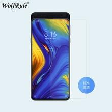 2PCS Screen Protector Xiaomi Mi Mix 3 Glass Mi Mix 3 Mi Mix3 UltraThin 9H Hardness Tempered Glass For Xiaomi Mi Mix 3 Glass Film аксессуар чехол df для xiaomi mi mix 3 xiflip 37