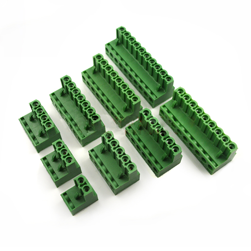 20Pcs 300V 2EDGK 3.81mm Pitch 5-Pin PCB Screw Terminal Block Connector