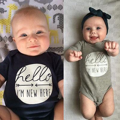 Baby Boys & Girls Bodysuit